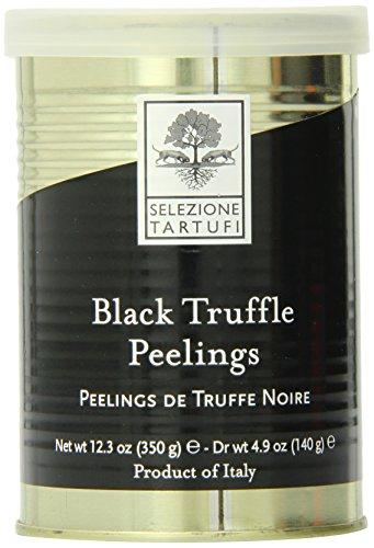 Selezione Tartufi Black Summer Truffle Peelings, 12.3-Ounce Tin
