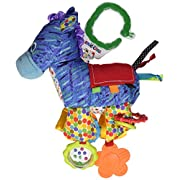 The World of Eric Carle, The Very Hungry Caterpillar On the Go Developmental Plush Horse with Sound, 12