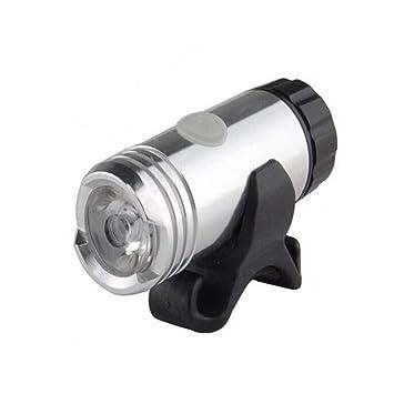 Faros de bicicleta.Montar en la noche Luz de carga USB Linterna ...