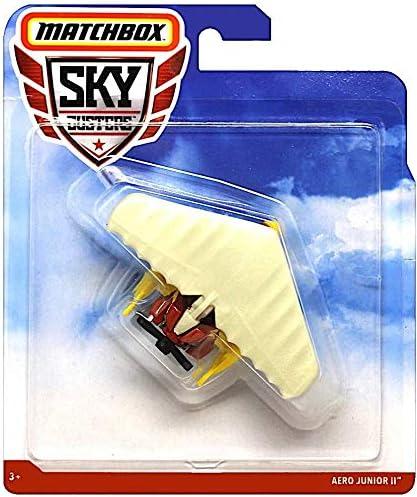 Matchbox Aero Junior II Skybusters Diecast Plane 1:64 Scale