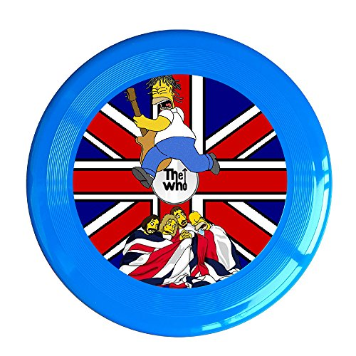 VOLTE THE WHO English Rock Band Cartoon RoyalBlue Flying-discs 150 Grams Outdoor Activities Frisbee Star Concert Dog Pet - Cartoon Ban Ray