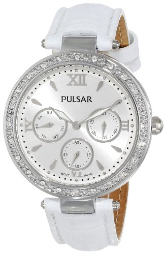 Pulsar Women's PP6115 Analog Display Japanese Quartz White Watch