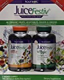 Natrol JuiceFestive: Fruits and Vegetables in Capsules 240 capsules (2 Month Supply)