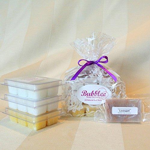 Non-GMO / Natural Aromatherapy Wax Melts Gift Set  - Lavende