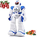 Wonwo Robot Toy for Kids, Smart Robot Kit with Remote Control & Gesture Control, Perfect Robotics Gifts for Boys Girls Learning Programmable Walking Dancing Singing