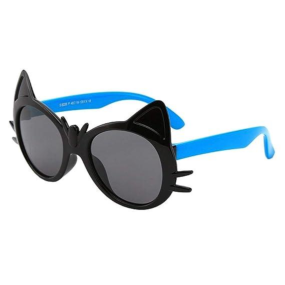 qiansu Nueva moda para Niños Gafas de sol Polarizadas Niños ...