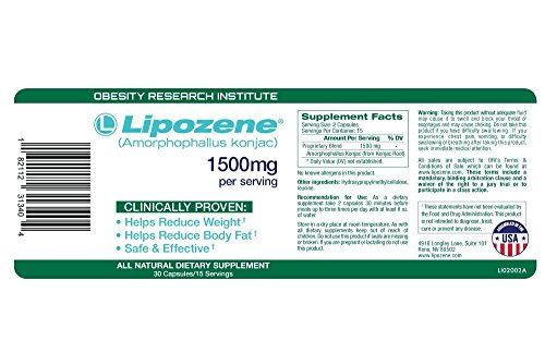 Lipozene Green Weight Loss Pills