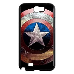 Captain America Samsung Note2 N7100 phone case cell phone cases&Gift Holiday&Christmas Gifts NVFL7N8824440