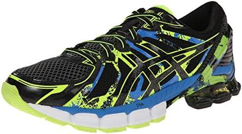 ASICS Men's Gel Sendai 2 Running Shoe, BlackOnyxFlash