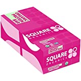 Square Organics Organic Chocolate Coated Protein Bar, Cherry, 12 Count - 20.3 Ounce