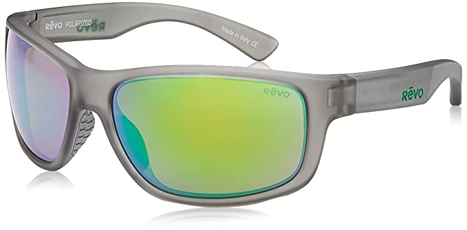 5297926710f Revo Baseliner RE 1006 00 GN Polarized Wrap Sunglasses