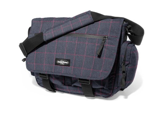 Eastpak Schultertasche Stanly, plum plaid, 21.5 liters, EK20472B Red Tile