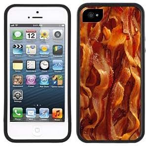 Bacon Strips Handmade iPhone 5C Black Case