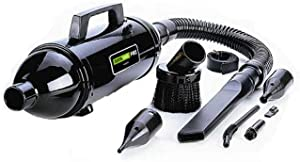 METROVAC MDV-3BAV Data Vac Pro Series Variable Speed Vacuum for Electronics