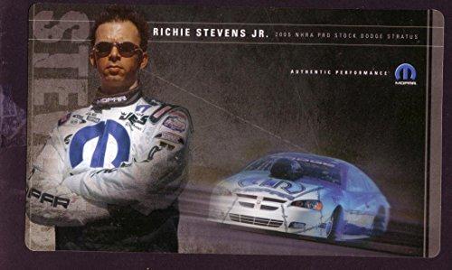 RICHIE STEVENS JR. NHRA HERO CARD 2005 PRO STOCK - Pro 2005 Nhra Stock