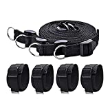 #9: Family Party Under Bed Kits with Ankle Cuffs for Black
