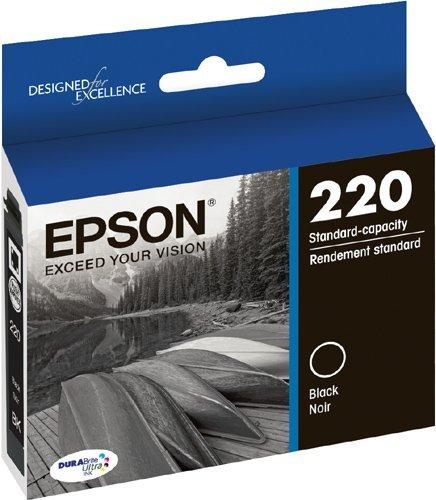 4 X  DURABrite Ultra Standard-Capacity Ink Cartridge, Black () - Epson T220120