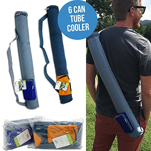 Tube Cooler Blue Avocado carry product image