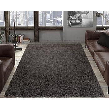 Ottomanson SHG2764 5X7 Shaggy Collection Shag Area Rug
