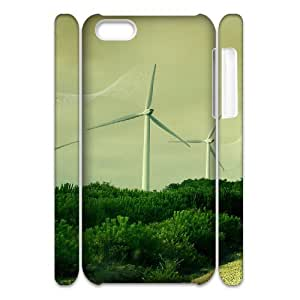 Iphone 5C Case 3D, Green Energy Case for Iphone 5C white lm5c172236