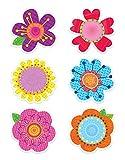 Creative Teaching Press Springtime Blooms Designer Cut-Outs (3898)