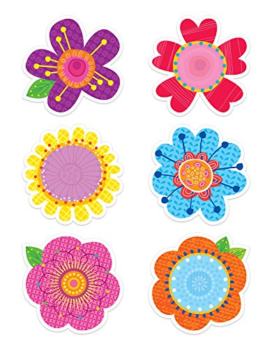 Creative Teaching Press Springtime Blooms Designer Cut-Outs (3898)