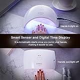 UV LED Nail Lamp,SUNUV Gel UV Light Nail Dryer for
