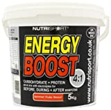 Nutrisport Energy Boost 4:1 Summer Fruits Powder 5Kg