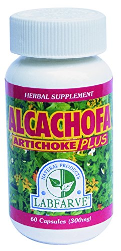 (Alcachofa Plus LABFARVE. Herbal Supplement. Natural Product)