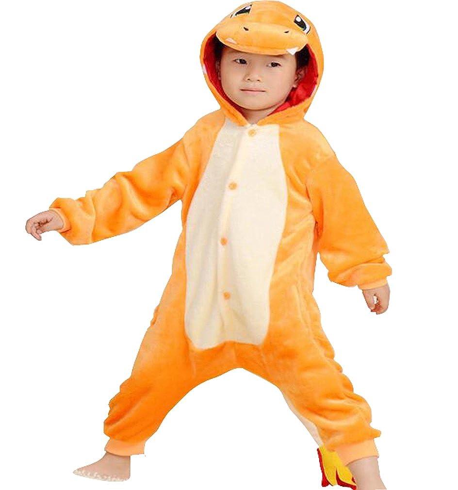65438da8e Amazon.com: Kids Charmander, Halloween Xmas Cosplay Costumes Cartoon Pajamas:  Clothing
