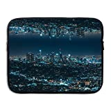 Ministoeb Morden City Love Art Laptop Storage Bag - Portable Waterproof Laptop Case Briefcase Sleeve Bags Cover