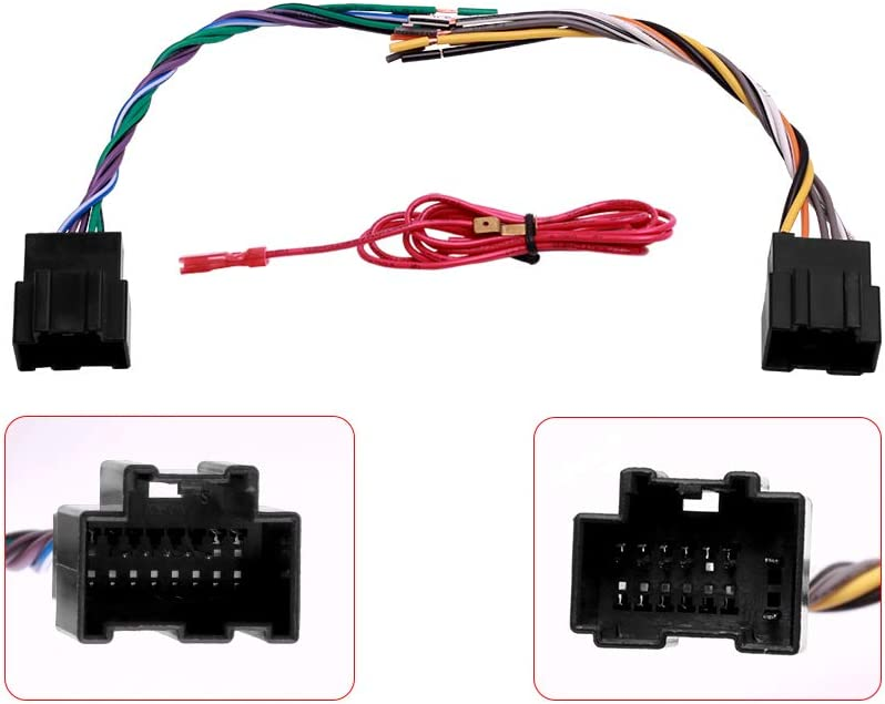 amazon.com: car stereo radio wire harness plug for some gmc buick pontiac  saturn vehicles: car electronics  amazon.com