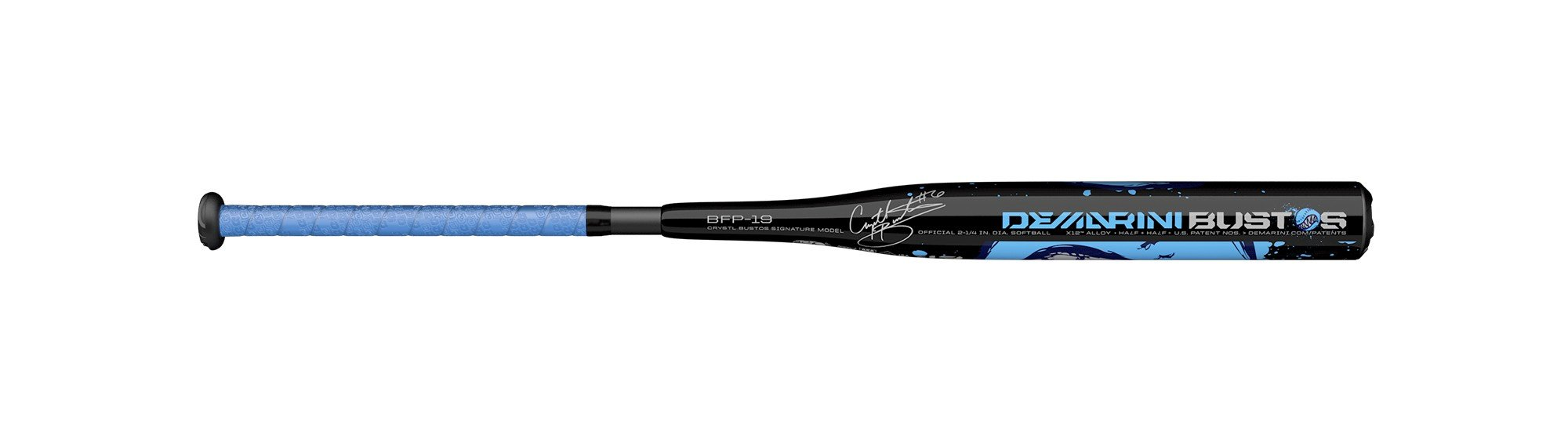 DeMarini 2019 Bustos (-13) 2 1/4'' Fastpitch Bat, 29''/16 oz by DeMarini (Image #4)