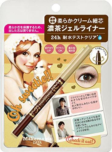 BCL Make Mania Data Pencil Gel Eyeliner, Deep Brown by BCL