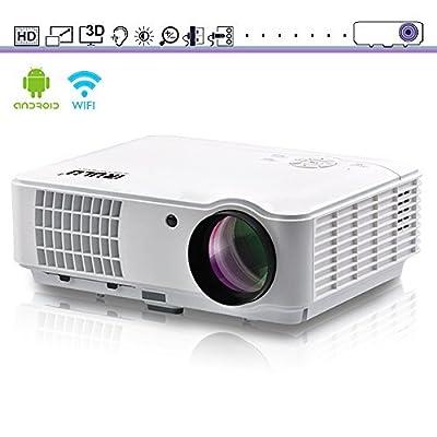 iRULU 10, Pro HD Video Projector 1280*800 1080p 2500 Lumens