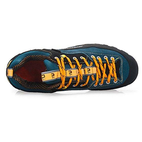 Chaussures Showlovein etanches montagne de Jaune en Hommes escalade de Chaussures randonnee Chaussures respirantes 55wOrgf