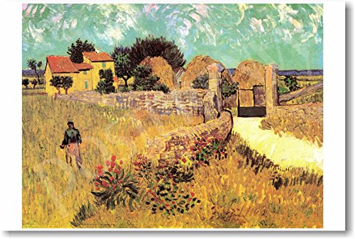 Vincent van Gogh - Farmhouse in Provence 1888 - NEW Fine Arts Poster