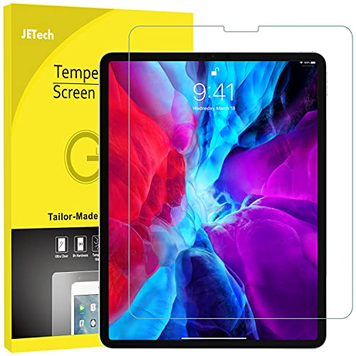 JETech Screen Protector for iPad Pro 12.9 Inch Edge