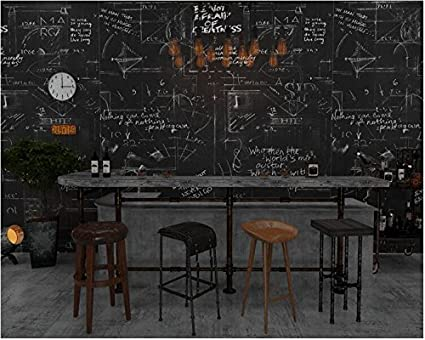 Yosot Carteles Retro Pizarra Papel Tapiz Bar Bar Bar Bar ...