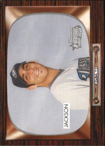 2004 Bowman Heritage Baseball Rookie Card #237 Zach Jackson 2004 Bowman Baseball Rookie Card