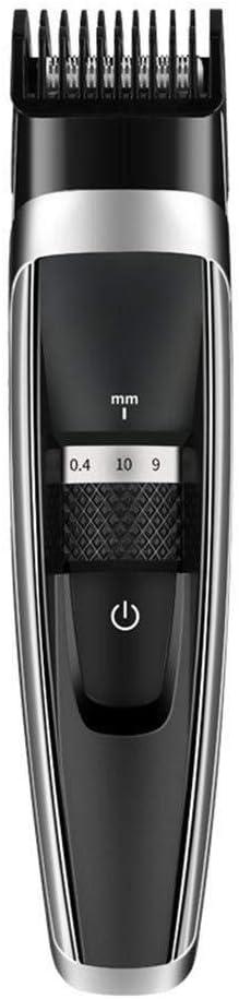 Lfsp プロフェッショナルバリカンバリカンコードレス電動ヘアトリマーヒゲ剃刀の刃チタン防水充電式ヘアツール (Color : -, Size : -)