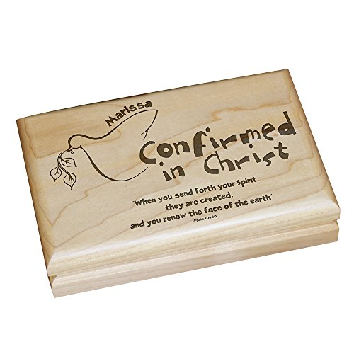 Confirmed in Christ Engraved Keepsake Bo - Confirmation Keepsake Shopping Results