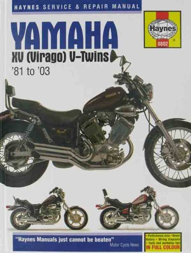 Haynes Repair Manuals 802 Yamaha Xv Virago V-Twin 81-03