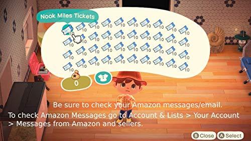 🥇 Animal Crossing: New Horizons 200 entradas de Nook Miles y 1.9 M Campanas Bundle