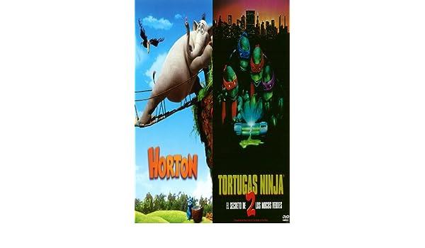Pack Horton + Tortugas Ninja 2 + Libro para Colorear: Amazon ...