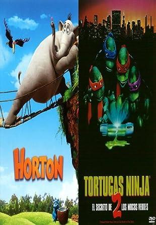 Amazon.com: Pack Horton + Tortugas Ninja 2 + Libro para ...