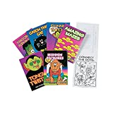 Halloween Fun & Game Party Favor Books - Assorted Styles - 72 Pieces