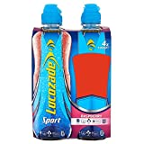 Lucozade Sport Body Fuel Raspberry (4x500ml) - Pack of 2