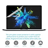 """(2-Pack)Anti Scratch Matte Macbook Screen Protector for Apple MacBook New Macbook Pro 13"""" Model A1706/A1708 with/without Touch Bar(2017 & 2016 Release)"""