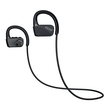Auriculares Bluetooth GRDE 4.1 Auriculares Deportivos Cancelación de Ruido Sin Pérdida de Alta Calidad In Ear